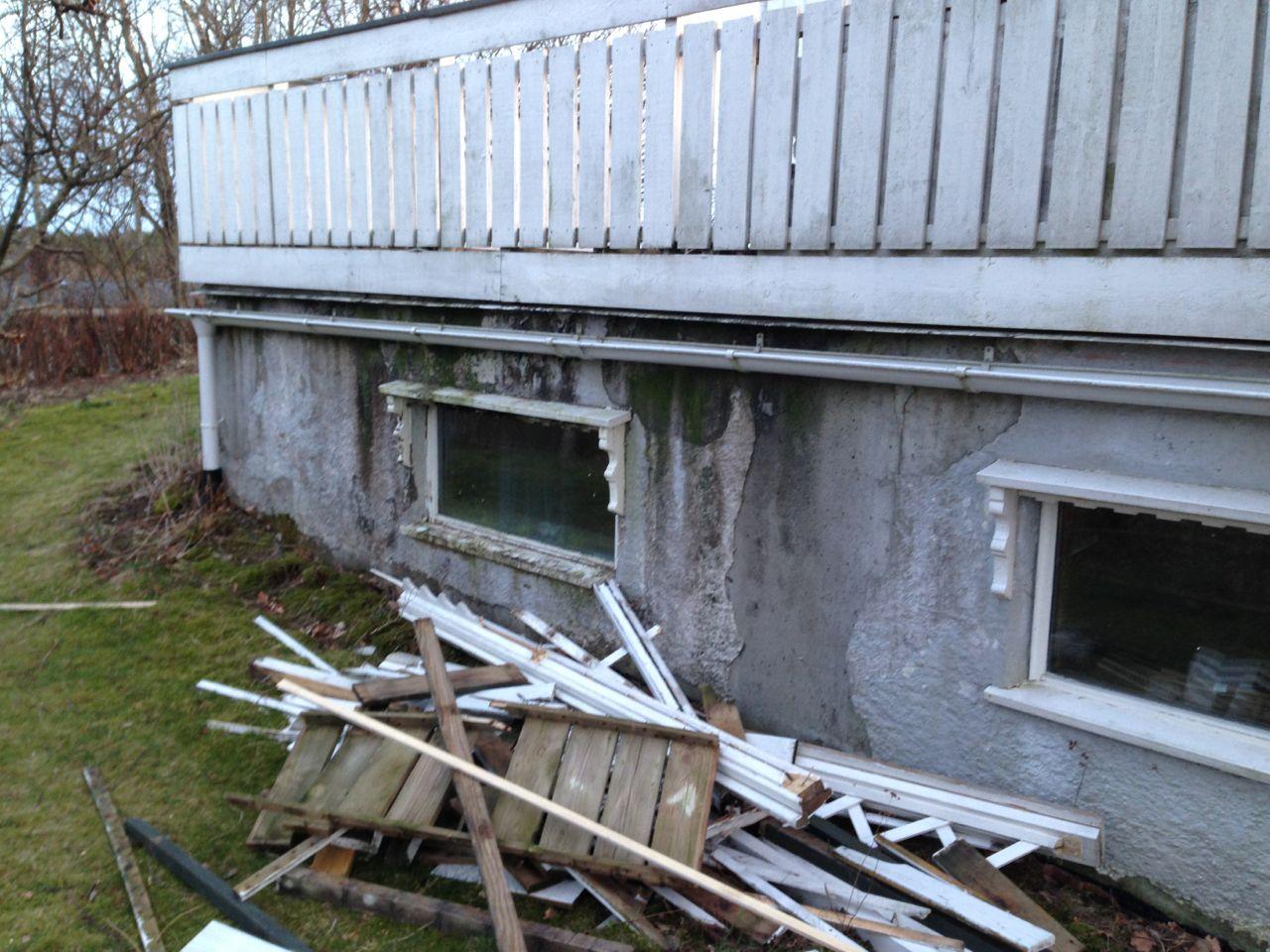 Renovering av terrasse over garasje (i sokkel) - ByggeBolig